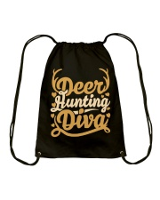 Deer Hunting Diva Drawstring Bag thumbnail