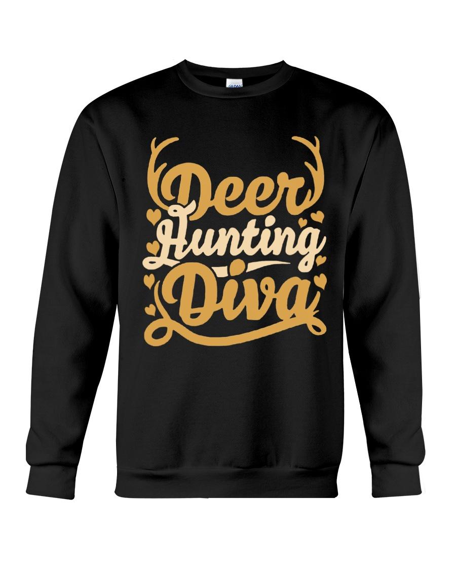 Deer Hunting Diva Crewneck Sweatshirt