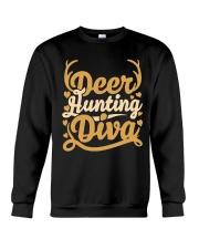 Deer Hunting Diva Crewneck Sweatshirt front