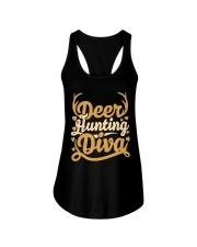 Deer Hunting Diva Ladies Flowy Tank thumbnail