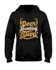 Deer Hunting Diva Hooded Sweatshirt thumbnail