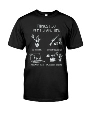 In MY spare Time Classic T-Shirt front