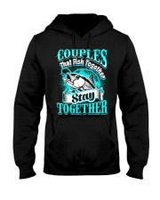 Couples Hooded Sweatshirt front