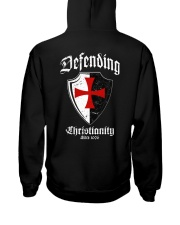 Knights Templar - Limited Edition Hooded Sweatshirt back