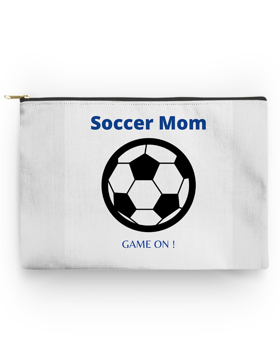 Soccer mom game on Accessory Pouch - Large