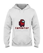Red Impostor Among us Shirts and Hoodie Hooded Sweatshirt thumbnail