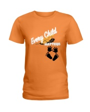 Orange Shirt Day Ladies T-Shirt thumbnail