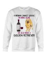 WOMAN NEEDS A GOLDEN RETRIEVER Crewneck Sweatshirt thumbnail