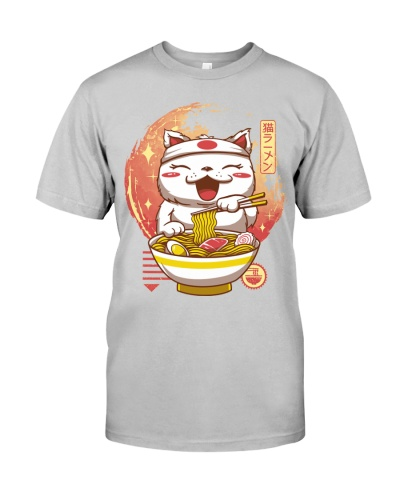 Ramen Japanese Cat