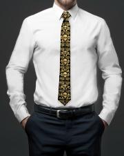 Golden Skull Tie For Men - 1 Tie aos-tie-lifestyle-front-01