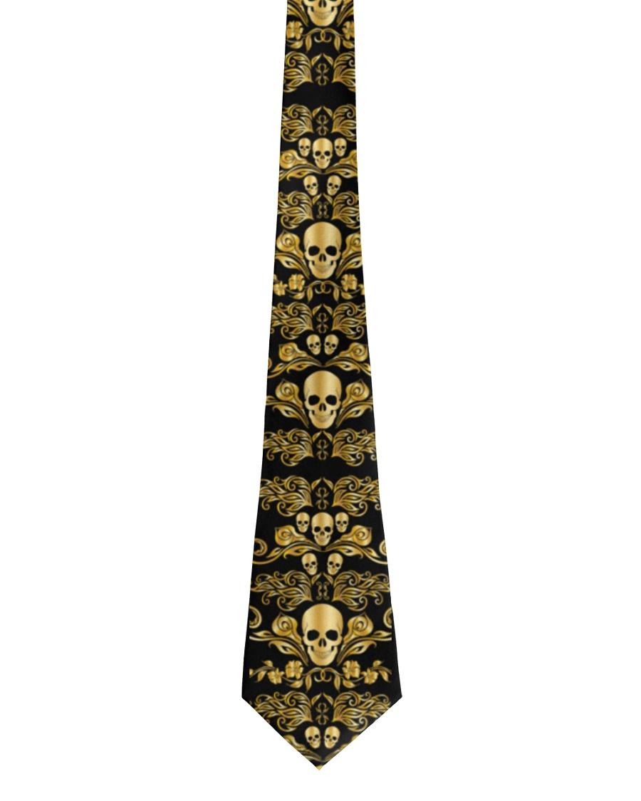 Golden Skull Tie For Men - 1 Tie