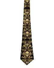 Golden Skull Tie For Men - 1 Tie front
