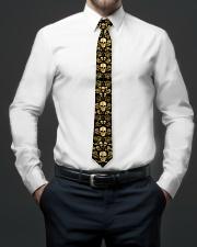 Skull Gold Tie for Men Tie aos-tie-lifestyle-front-01