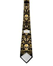Skull Gold Tie for Men Tie back