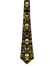 Skull Gold Tie for Men Tie front