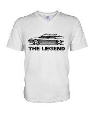 CAR V-Neck T-Shirt thumbnail