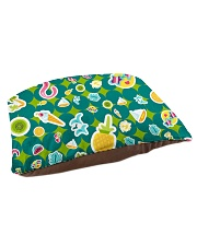 Tropical Green Pet Bed - Small thumbnail