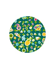 Tropical Green Circle Cutting Board thumbnail
