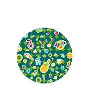 Tropical Green Circle Magnet thumbnail