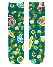 Tropical Green Crew Length Socks thumbnail