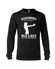 Assuming Im Just An Old Lady Gun TShirt Clothing T Long Sleeve Tee thumbnail
