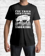 I have tried everything but I cant quit smoking Classic T-Shirt lifestyle-mens-crewneck-front-1