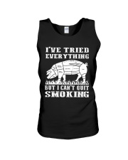 I have tried everything but I cant quit smoking Unisex Tank thumbnail
