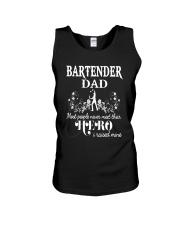 Bartender Dad Unisex Tank thumbnail