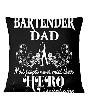 Bartender Dad Square Pillowcase thumbnail