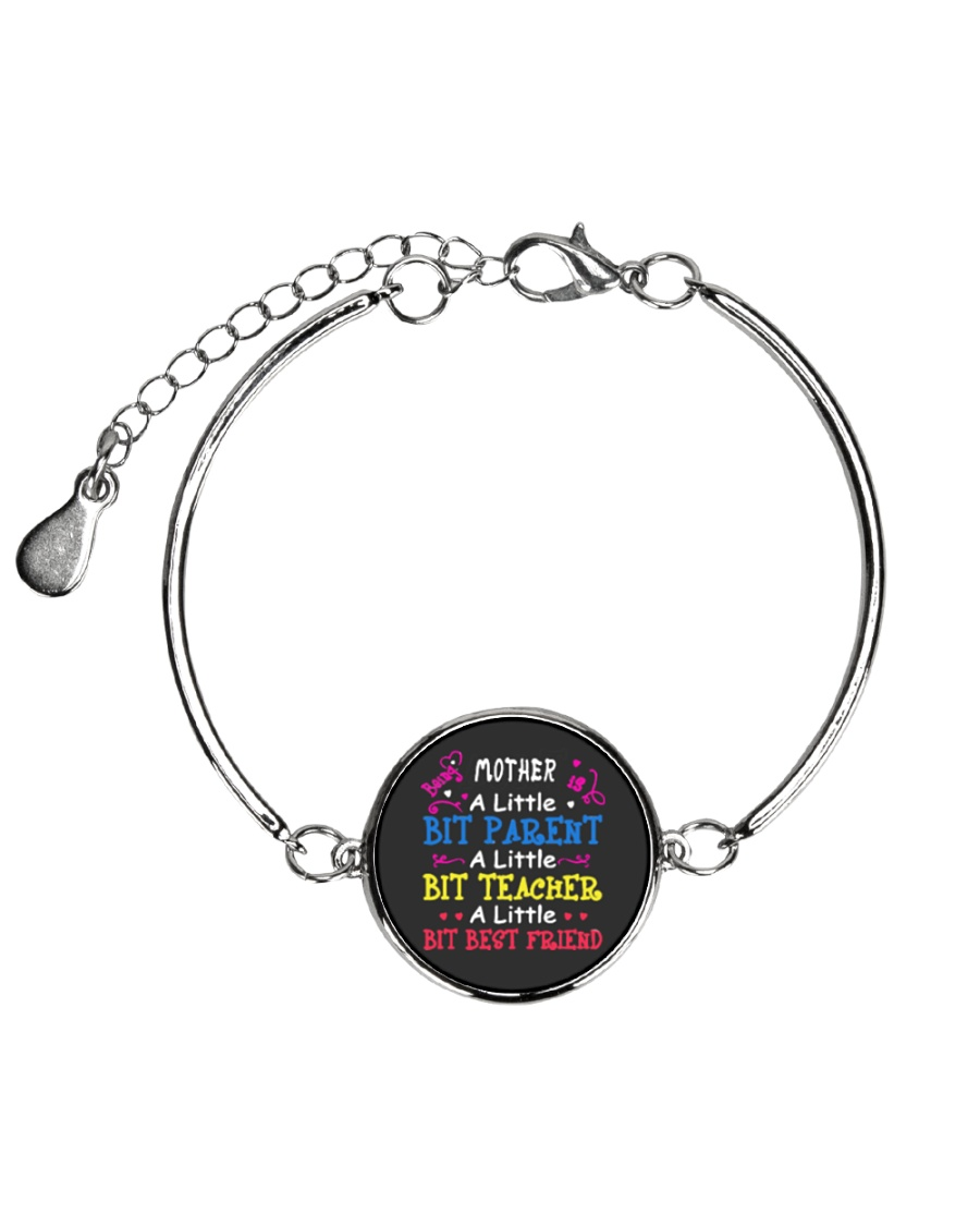 Mother's Day best gift Metallic Circle Bracelet