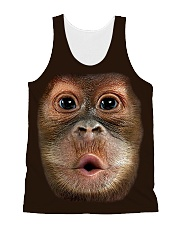 Monkey BBQ All-over Unisex Tank front