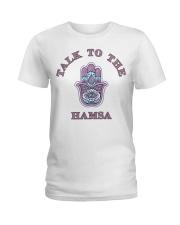 Talk to The Hamsa Ladies T-Shirt thumbnail