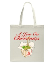 A Jew on Christmas  Tote Bag thumbnail