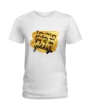 Say it in Yiddish Ladies T-Shirt thumbnail