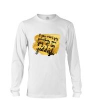 Say it in Yiddish Long Sleeve Tee thumbnail