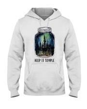 Keep It Simple Hooded Sweatshirt front