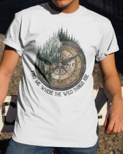 Find Me Where The Wild Classic T-Shirt apparel-classic-tshirt-lifestyle-28