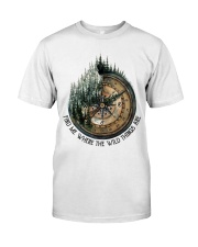 Find Me Where The Wild Premium Fit Mens Tee thumbnail