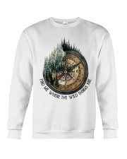 Find Me Where The Wild Crewneck Sweatshirt tile