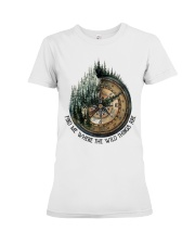 Find Me Where The Wild Premium Fit Ladies Tee tile