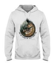 Find Me Where The Wild Hooded Sweatshirt thumbnail