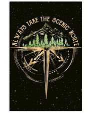 Always Take The Scenic Route 11x17 Poster front