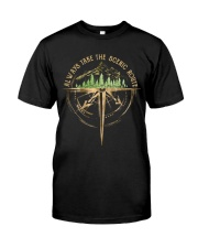 Always Take The Scenic Route Classic T-Shirt thumbnail
