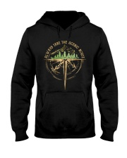 Always Take The Scenic Route Hooded Sweatshirt front