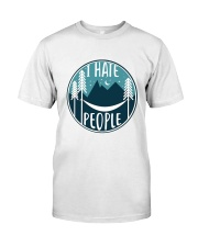 T Hate People Classic T-Shirt thumbnail
