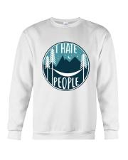 T Hate People Crewneck Sweatshirt thumbnail