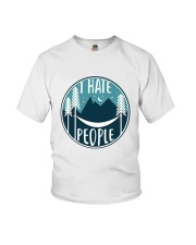 T Hate People Youth T-Shirt thumbnail