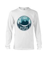 T Hate People Long Sleeve Tee thumbnail