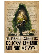 And Into The Forest 11x17 Poster front