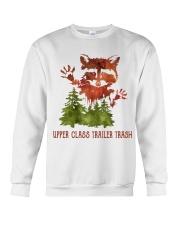 Uper Class Trailer Trash Crewneck Sweatshirt thumbnail